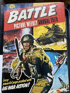Battle Picture Weekly Annual 1979, Various, Good Condition Book, ISBN 0850374057