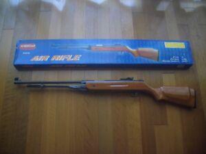 Air Rifle .22 Airgun Wood Stock Pellet Gun by American Tool Exchange New in Box