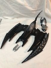 Kenner Batman Forever Batwing working Missile Launcher, Inc. Cockpit & Tail