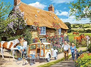 The country Cottage, 100 large piece jigsaw puzzle. Ravensburger. New/sealed