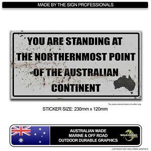 Cape York Sticker FNQ Sticker rustic decal 4WD Sticker Telegraph Track Camping