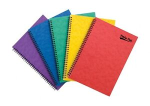 A4/A5/A6/A7 Notebooks Ruled Lined Reporters Notepad Spiral Wiro School Jotta