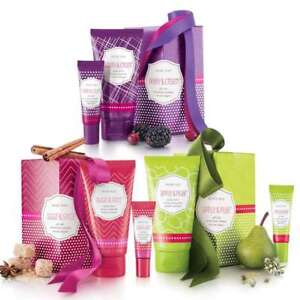 Mary Kay Gift Sets - Lotion & Balm - Berry & Cream, Sugar & Spice, Apple & Pear