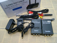 2.4G 5W Wireless AV TV CCTV Sender Camera DVR Audio Video Transmitter Receiver