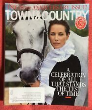 TOWN & COUNTRY MAGAZINE OCTOBER 2016 170TH ANNIVERSARY ISSUE CHRISTY TURLINGTON