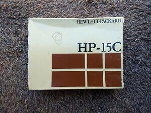 HP 15C Scientific Calculator with Original Box, Manual, and Case Hewlett Packard