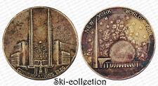 Médaille New-York World's Fair Communications Building, 1939. USA. Bronze