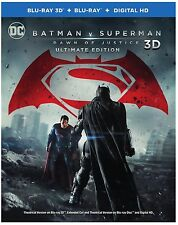 BATMAN V SUPERMAN: DAWN OF JUSTICE 3D BLU-RAY / BLU-RAY - VS. -
