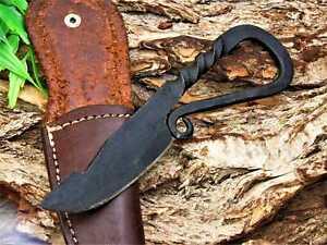 Mittelalter  Messer, Gürtel Messer, handgeschmiedet #33