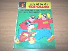 GLI ALBI DI TOPOLINO-N. 827-ZIO PAPERONE ELEFANTI RAPINATORI-DISNEY MONDADORI'70