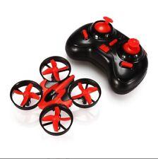 New Eachine E010 Mini Quadcopter Drone Headless Mode RTF  Red/Black