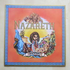NAZARETH Rampant UK vinyl LP with inner sleeve A-1U/B-1U Mooncrest 1974 Ex+