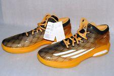 Adidas C77247 Performance Crazylight Boost Basketball Schuhe 52 2/3 UK16 Gold