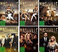 29 DVDs * NASHVILLE - SEASON / STAFFEL 1 + 2 + 3 + 4 + 5 + 6 IM SET # NEU OVP &B