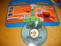 *SESAME STREET : ELMO'S MUSIC MAGIC* ABC For Kids Issue + Dvd Extra's - Region 4