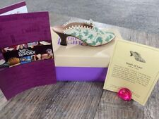 """Raine Willitts Design Just the Right Shoe """"Touch of Lace"""" Shoe W/ Box Coa"""