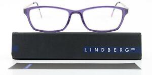 Lindberg Glasses Mod. 1134 51-16 135 AE36 Flexible Acetanium Purple S-M