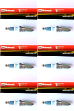 New SET OF 6 Motorcraft Platinum - Copper Core Spark Plugs