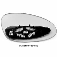 Right side for Porsche 928, 968 1991-1995 heated wing door mirror glass
