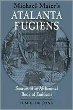 NEW Michael Maier's Atalanta Fugiens: Sources of an Alchemical Book of Emblems