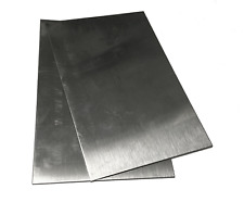 """12 Gauge Stainless Steel #4 Brushed 304 Sheet Plate 12/"""" x 12/"""""""
