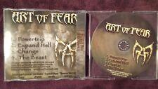 ART OF FEAR - POWERTRIP. CD PROMO 4 TRACKS