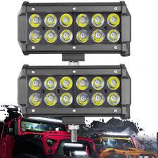 6 Led Work Light Bar Spot Beam Pods Off Road Driving Lamp Atv Off Road 12v 7