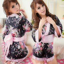 Sexy Photo Studio Home Costume Sweet Japanese Kimono Cosplay Geisha Fancy Dress