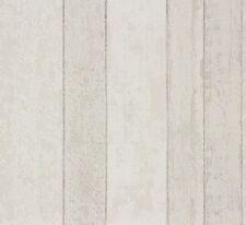 Vliestapete Holz Holzbrett Tapete Grau Weiß 859607 Rasch Pure Vintage  (2,22u20ac/
