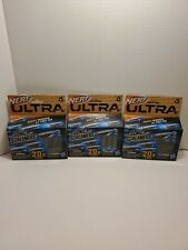 Z Nerf Ultra SONIC SCREAMERS NEW 2020 Whistler 20 Darts Gun Refill Ammo lot of 3