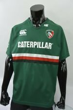 Canterbury Leicester Tigers Rugby Shirt Caterpillar Jersey SIZE S (adults)
