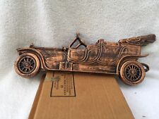VINTAGE COPPERCRAFT GUILD ROLLS ROYCE CAR #3425 WALL PLAQUE