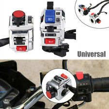 """22mm/7/8"""" 12V Motorcycle Handlebar Switch Control Assembly Horn Indicator Button"""