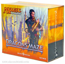 Magic the Gathering DRAGON'S MAZE FAT PACK New Sealed Box