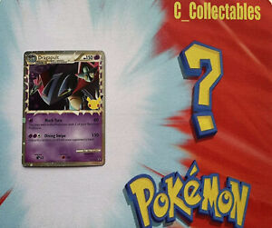 Pokemon Card Dragapult Prime SWSH132 Promo Celebrations 25th Anniversary Holo