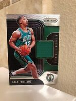 2019-20 Prizm Sensational Swatches Jersey Grant Williams RC Celtics Rookie Mint