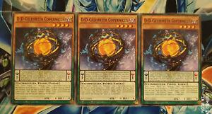 Yu-Gi-Oh! 3x D/D-Gelehrter Copernicus SDPD-DE003 Deutsch! BOOSTERFRISCH! 1.Aufl.