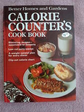 Better Homes and Gardens Calorie Counters Cookbook 1970 Vintage