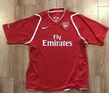 Arsenal Football Shirt Size (Rare Training Kit) Large.