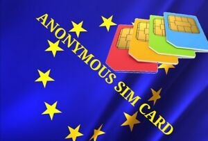 1 pc activated in Sweden Anonymous Activation Prepaid - Sim Card