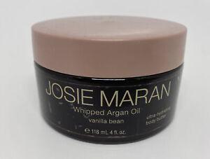 JOSIE MARAN WHIPPED ARGAN OIL HYDRATING BODY BUTTER VANILLA BEAN 4 OZ SEALED!