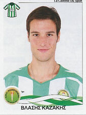 N°248 VLASIS KAZAKIS PANTHRAKIKOS STICKER PANINI GREEK GREECE LEAGUE 2010