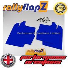 paraspruzzi per FORD FOCUS MK1 ZETEC (98-04) RallyflapZ Parafanghi Blu 3mm