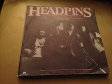 "HEADPINS- SPANISH 7"" SINGLE SPAIN HARD ROCK HEAVY METAL JUST ONE"