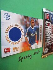 Topps Bundesliga Chrome Trikot Karte Höwedes Jersey Card Schalke 2013 14