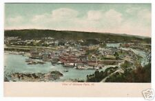 Birdseye View Bellow Falls Vermont 1907c postcard