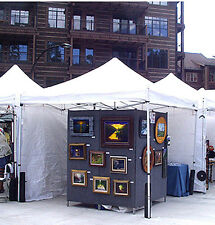 "Ernie Kleven's ART DISPLAY PANEL ""PLANS"" FOR ART/Craft FAIR EXHIBITS"