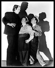 Abbott Costello Meet Frankenstein Photo 8x10 Glenn Strange Bud Lou 1948