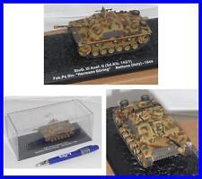 German Tank PANZER Sd Kfz 142/1 ITALY 1944 Die Cast Model 1/72 ALTAYA with CASE