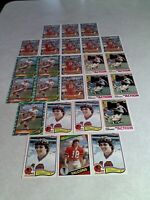 *****Mick Luckhurst*****  Lot of 24 cards.....5 DIFFERENT / Football